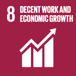 Mirainesia - Decent work and economic growth